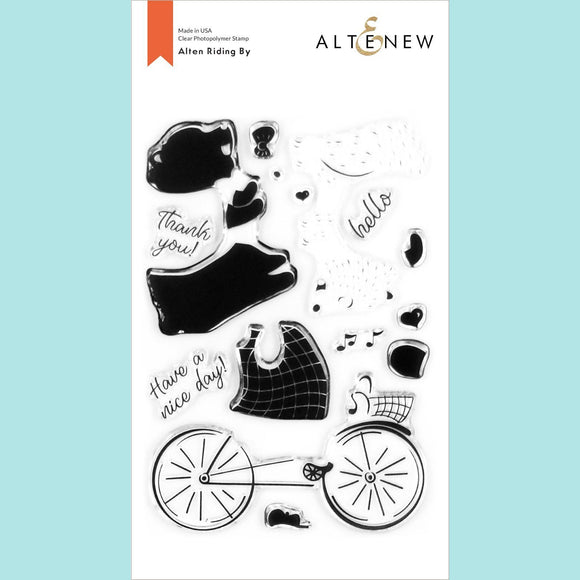 Altenew - Alten Riding By Stamp Set