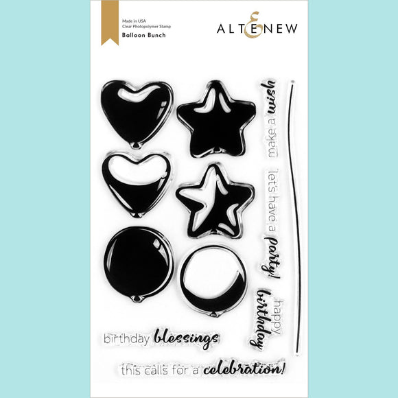 Altenew - Balloon Bunch Stamp Set