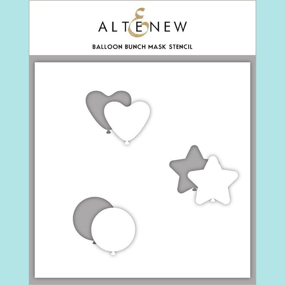 Altenew - Balloon Bunch Mask Stencil