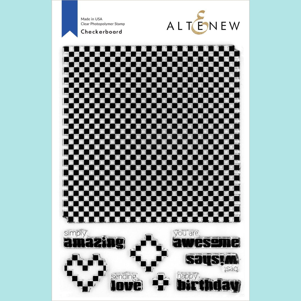 Altenew - Checkerboard Stamp Set