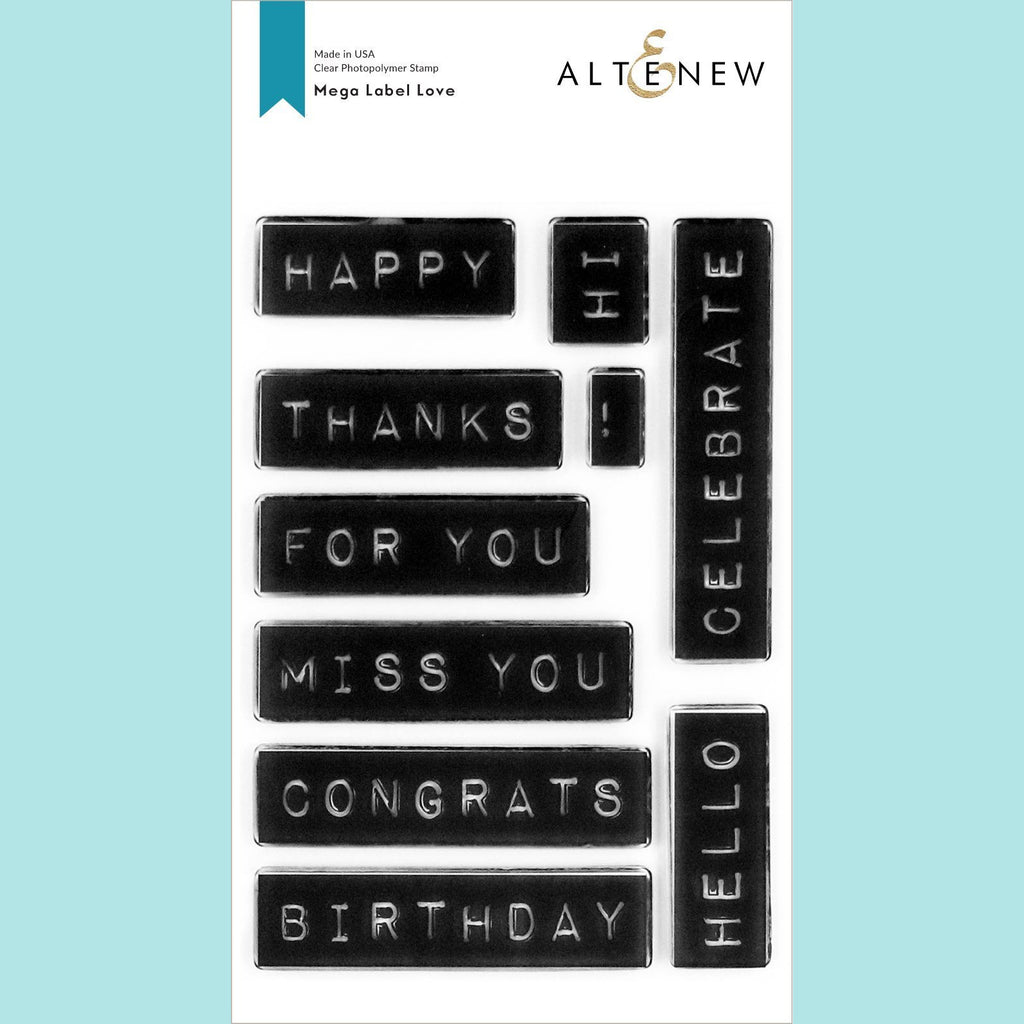 Altenew - Mega Label Love Stamp Set