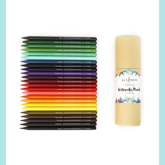 Altenew Woodless Watercolor Pencil 24 Set