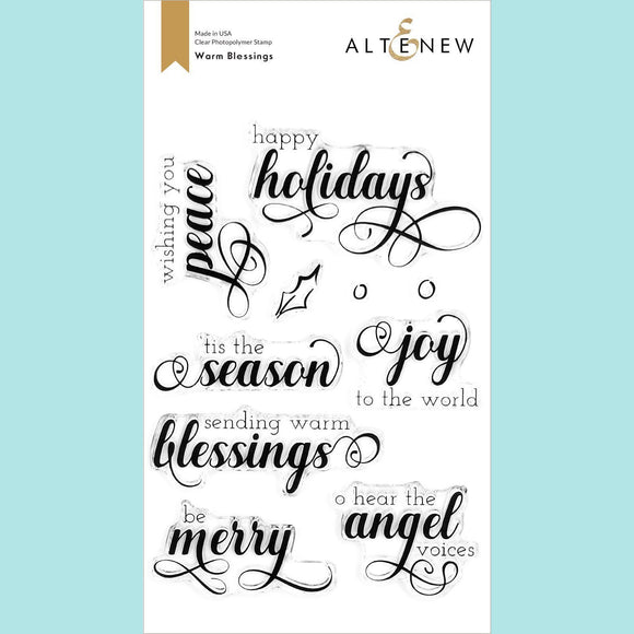 Altenew - Warm Blessings Stamp Set