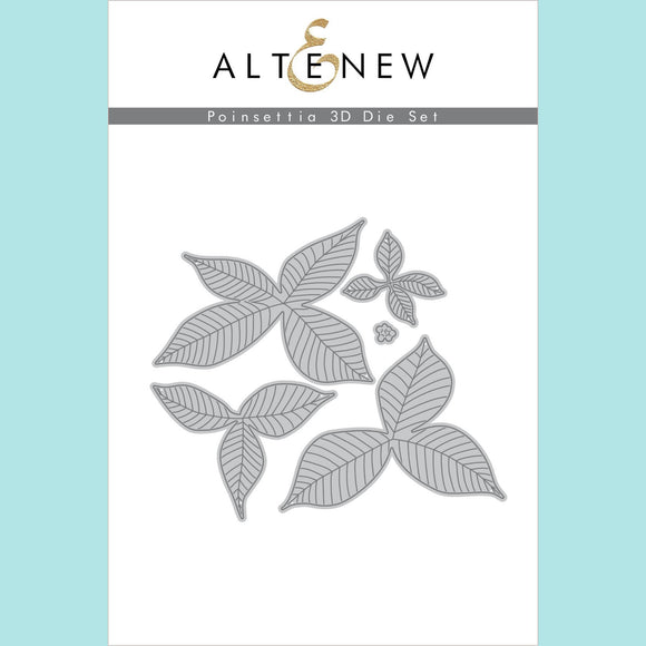 Altenew - Poinsettia 3D Die Set