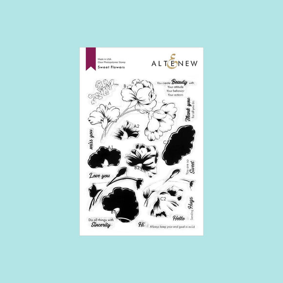 Altenew - Sweet Flowers Stamp Set