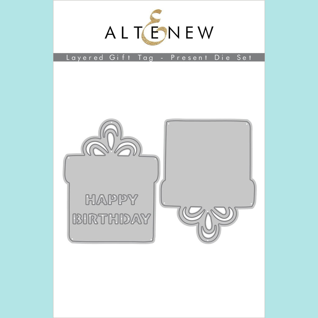 Altenew - Layered Gift Tag - Present Die Set