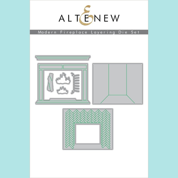 Altenew - Modern Fireplace Layering Die Set