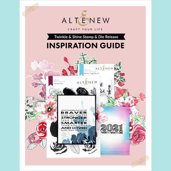 Altenew Twinkle & Shine Stamp & Die Release Inspiration Guide