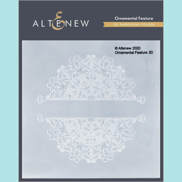 Altenew - Ornamental Feature 3D Embossing Folder