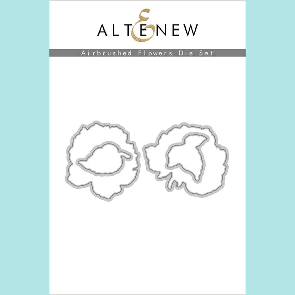 Altenew - Airbrushed Flowers Die Set