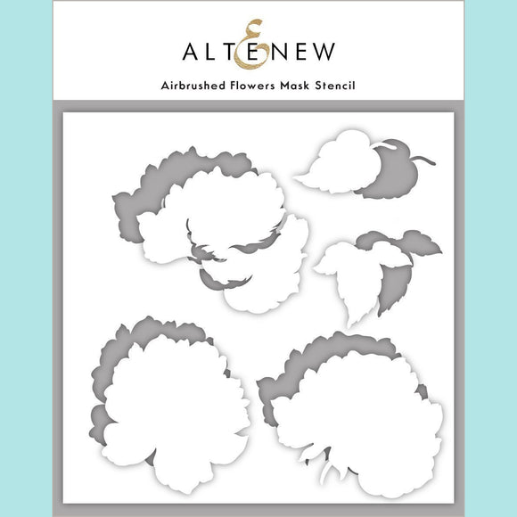 Altenew - Airbrushed Flowers Mask Stencil