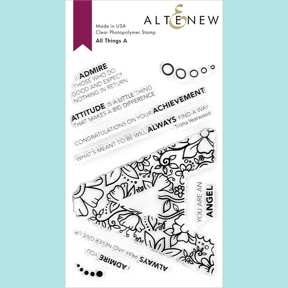 Altenew - All Things A Stamp Set