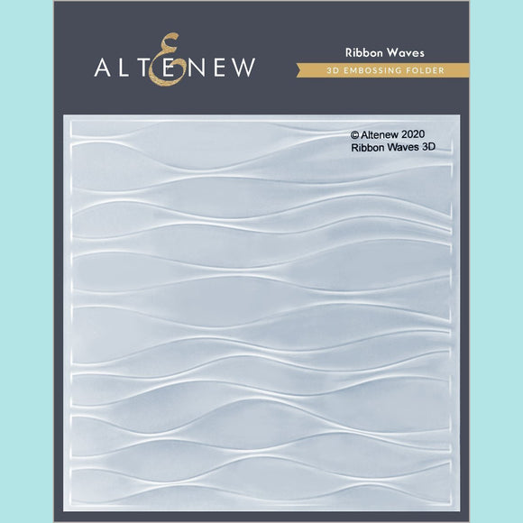 Altenew - Ribbon Waves 3D Embossing Folder