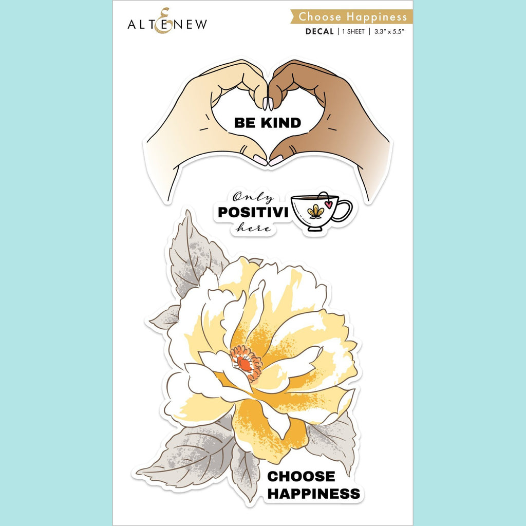 Altenew - Choose Happiness Decal Set - Mini