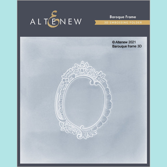 Altenew - Baroque Frame 3D Embossing Folder