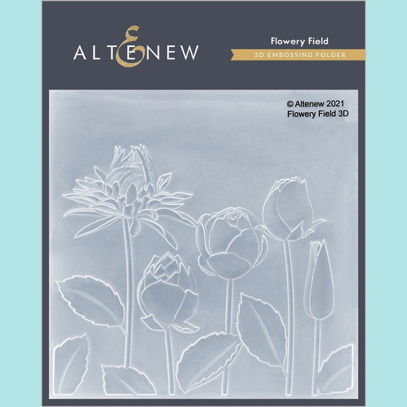 Altenew - Flowery Field 3D Embossing Folder