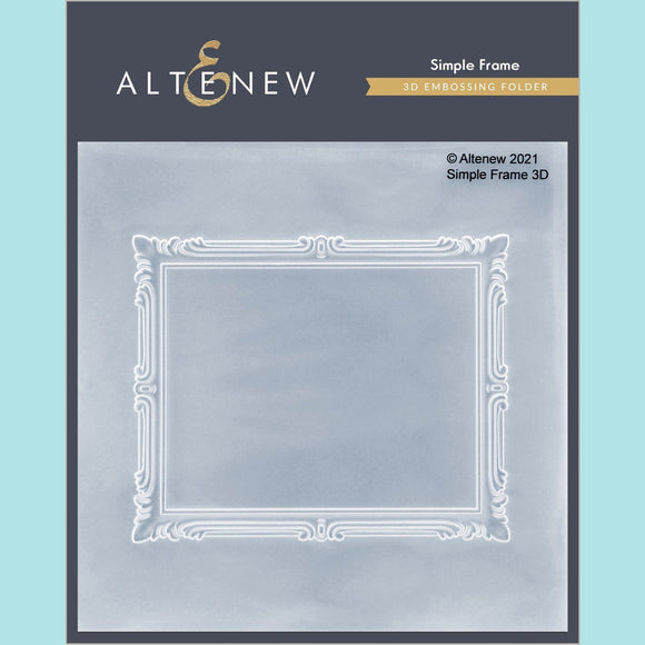Altenew - Simple Frame 3D Embossing Folder