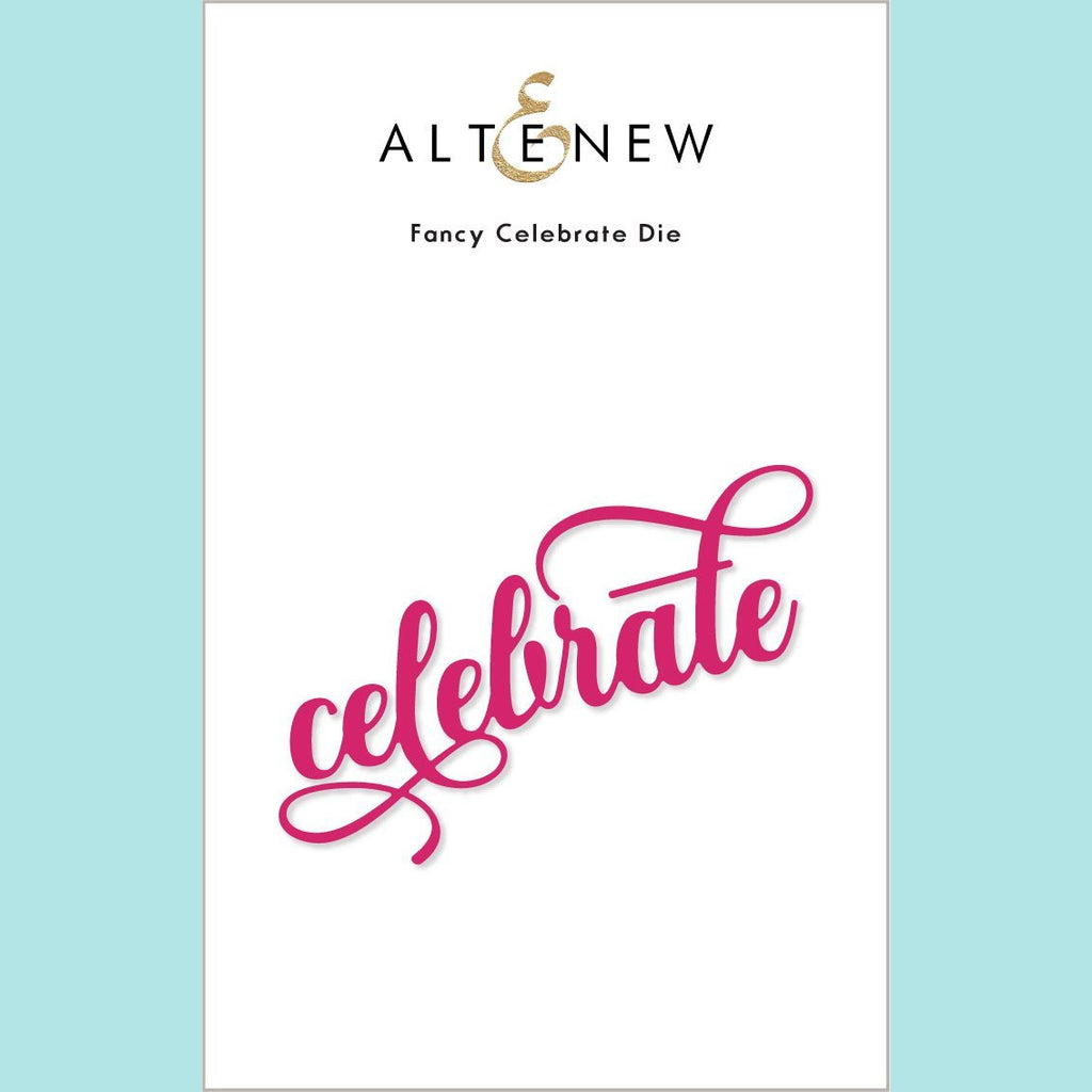 Altenew - Fancy Celebrate Die