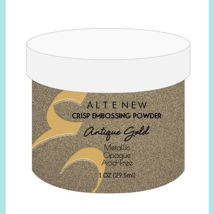 Altenew - Elegant Embossing Powder ANTIQUE GOLD