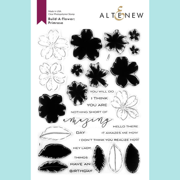 Altenew - Build-A-Flower - Primrose Layering Stamp