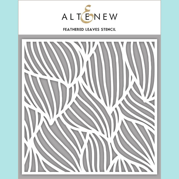 Altenew - Feathered Leaves Stencil