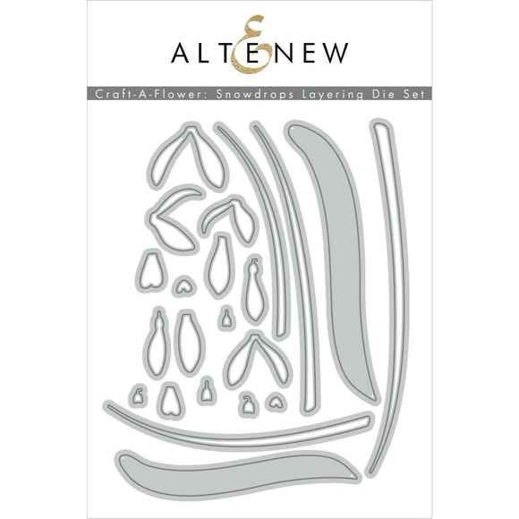 Altenew - Snowdrops Layering Die Set