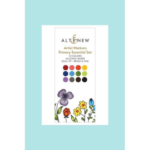 Altenew - Artist Markers Primary Essential Set - 12 Colours