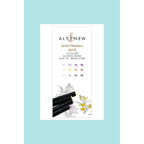 Altenew - Artist Markers Set B - 12 colours