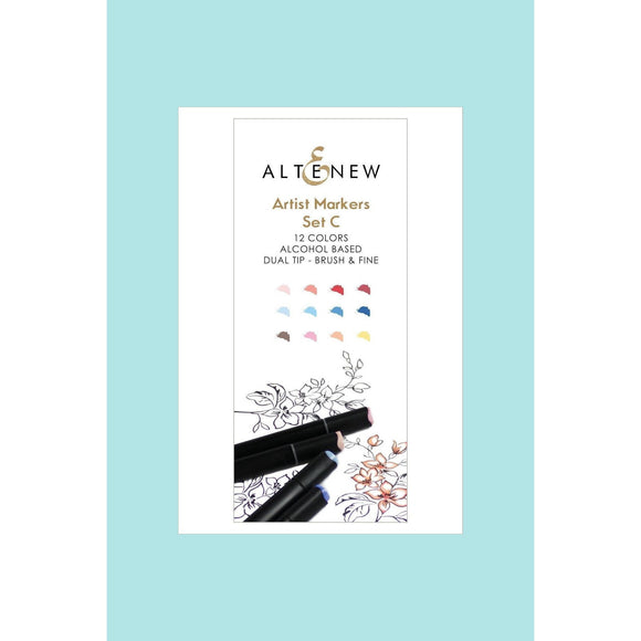 Altenew - Artist Markers Set C - 12 colours