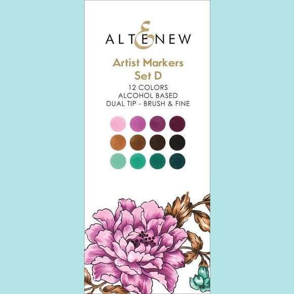 Altenew - Artist Markers Set D - 12 colours