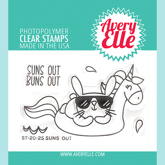 Avery Elle - Suns Out Clear Stamps