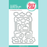 Avery Elle - Market Stand - Clear Stamps and Die