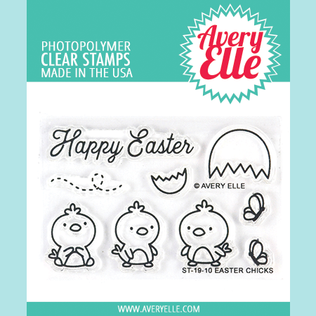 Avery Elle - Easter Chicks - Clear Stamps and Die