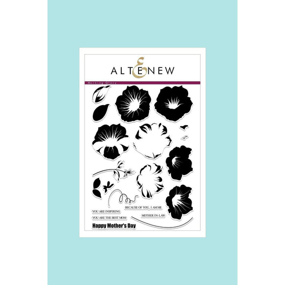 Altenew Build a Flower Morning Glory Stamp & Die Bundle