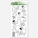 Picket Fence Studios - BFF Ballerina Friends Stamp