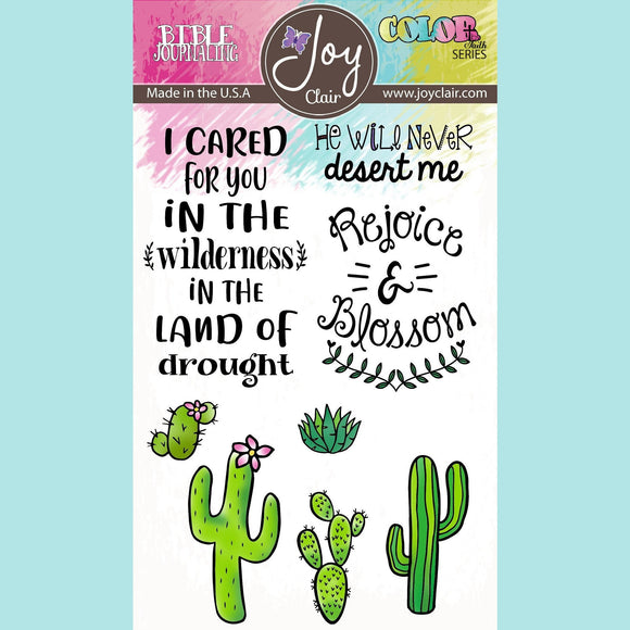 Joy Clair - Blossom - Bible Journaling Clear Stamp