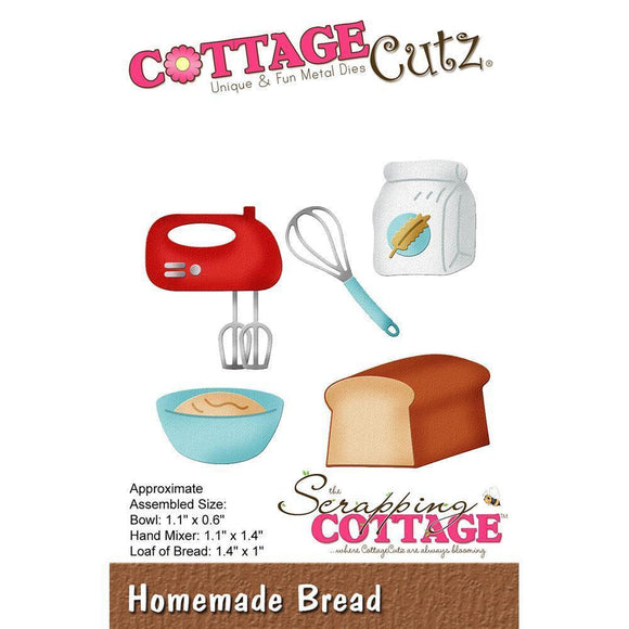 CottageCutz Die - Bread