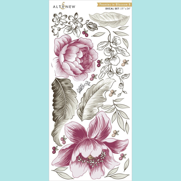 Altenew - Peonies in Blossom B Decal Set