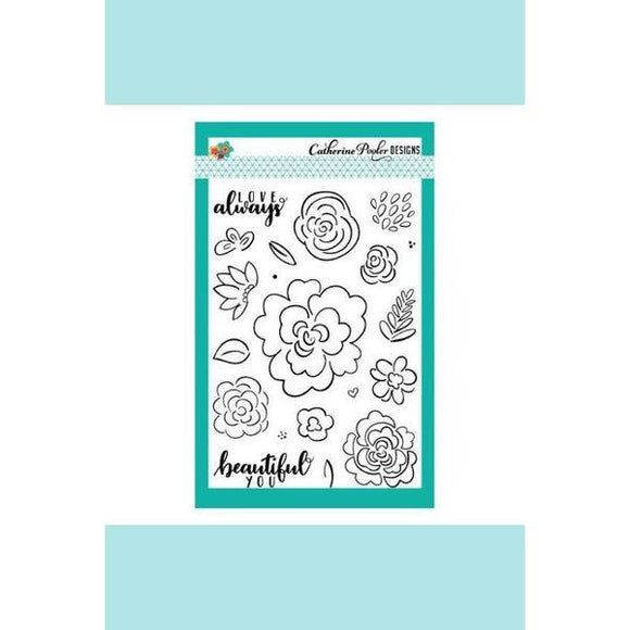Catherine Pooler Beautiful You Stamps