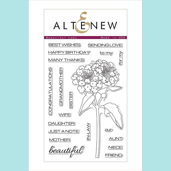 Altenew - Beautiful Lady Stamp and Die