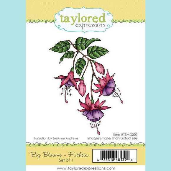 Taylored Expressions - Big Blooms Fuchsia