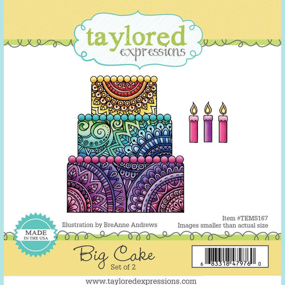 Taylored Expressions - Big Cake Stamp