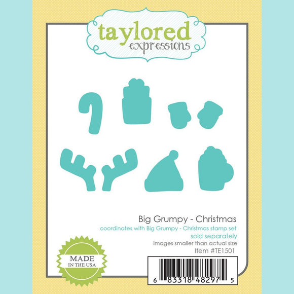 Taylored Expressions - Big Grumpy Christmas Dies