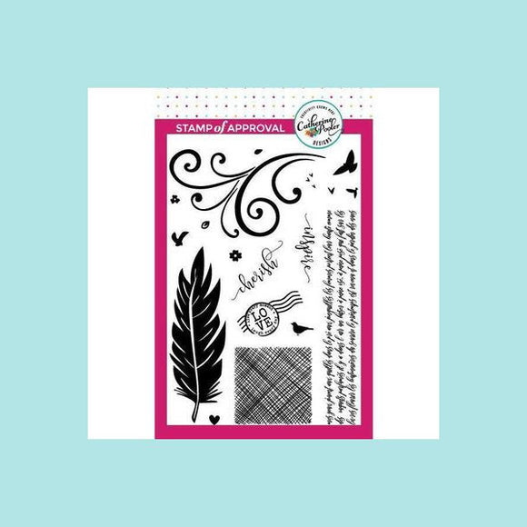 Catherine Pooler Birds of a Feather Stamp Set