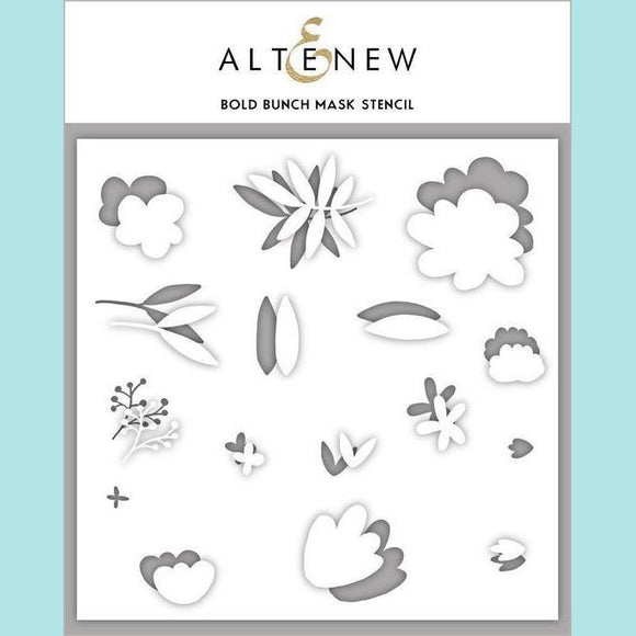 Altenew - Bold Bunch Mask Stencil