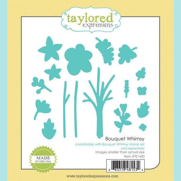 Taylored Expressions - Bouquet Whimsy Dies