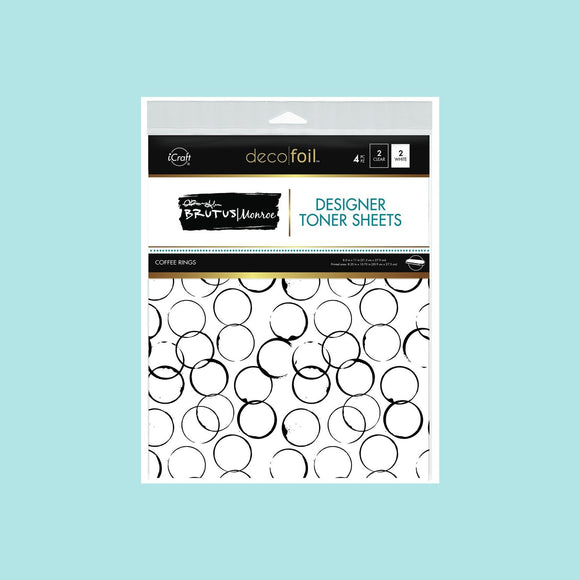 Brutus Monroe Designer Toner Sheets -Coffee Rings