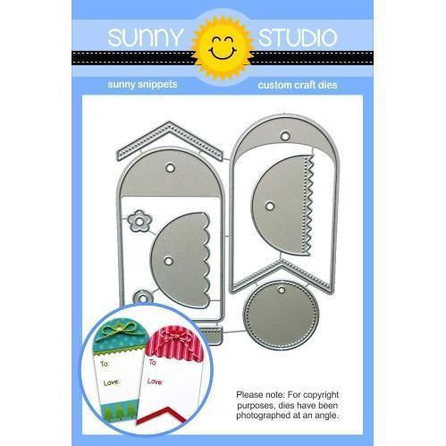 Sunny Studio Stamps - Build-A-Tag #1 Dies