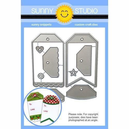 Sunny Studio Stamps - Build-A-Tag #2 Dies
