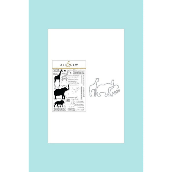 Altenew Baby Zoo Stamp & Die Bundle